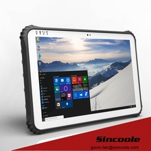 2D Barcode Reader Windows 10 4G LTE Rugged Tablets with NFC