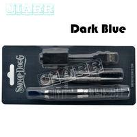 5pcs Lot Snoop Dogg Starter Kits Herbal Vaporizer Colorful Wax Dry Herb Blue Atomizer Vapor E