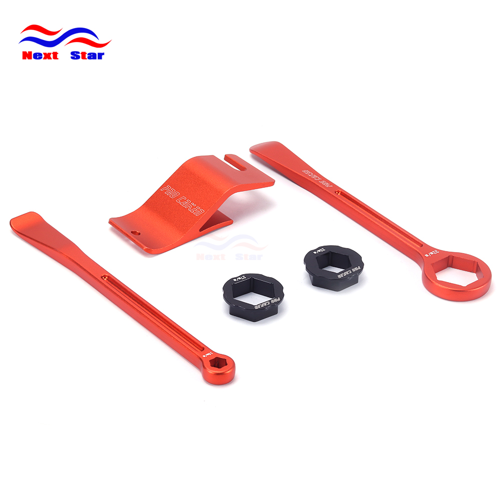 Set Changing Tool Kit Levers Hex Wrench Spanner Bead Buddy Assisistance tool For KTM EXC XC XCF WCFW MX EGS SX SXF SXS SMR