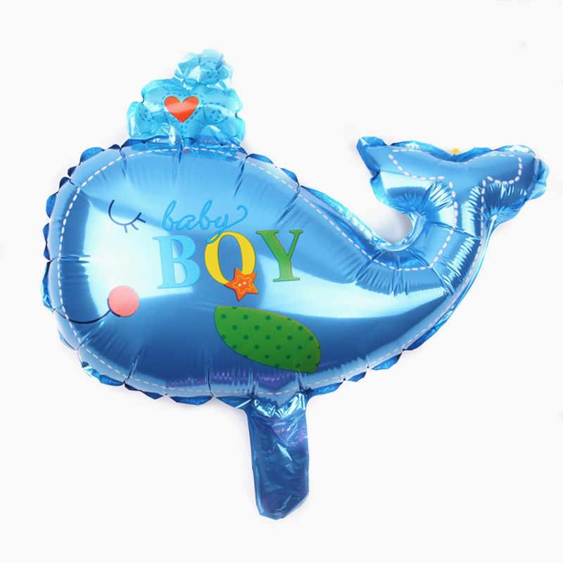 GOGO PAITY Frete Grátis mini baleia filme balão brinquedos para crianças festa de aniversário decoração de balões por atacado