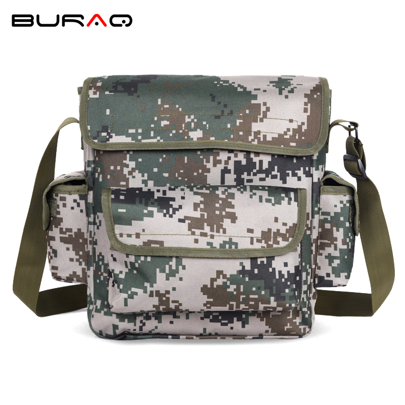 Sports & Entertainment Burraq Camouflage Nylon Waterproof Shoulder Bag Cross Body Belt Sling Messenger Bag Tactical Military Camouflage Handbag Climbing Bags