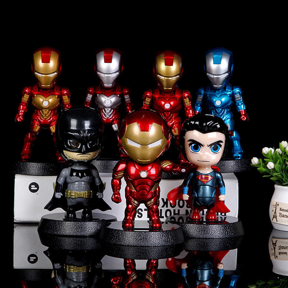 Car Ornament Cute Hot Solar Powered Dancing Figures Marvel Batman Treeman Swinging Bobble Dancer Solar Toys Car Decor Gift