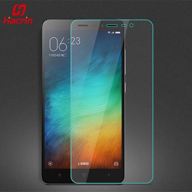 """hacrin Xiaomi Redmi Note 3 Pro Tempered Glass 9H 2.5D Premium Screen Protector Film For Redmi Note 3 Pro Prime 5.5"""" 150 Phone"""