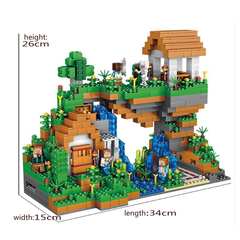 Qunlong-957pcs-Blocks-Figures-Toy-For-Kids-Compatible-Legoe-Minecrafted-City-Building-Blocks-Set-Education-Toys (3)