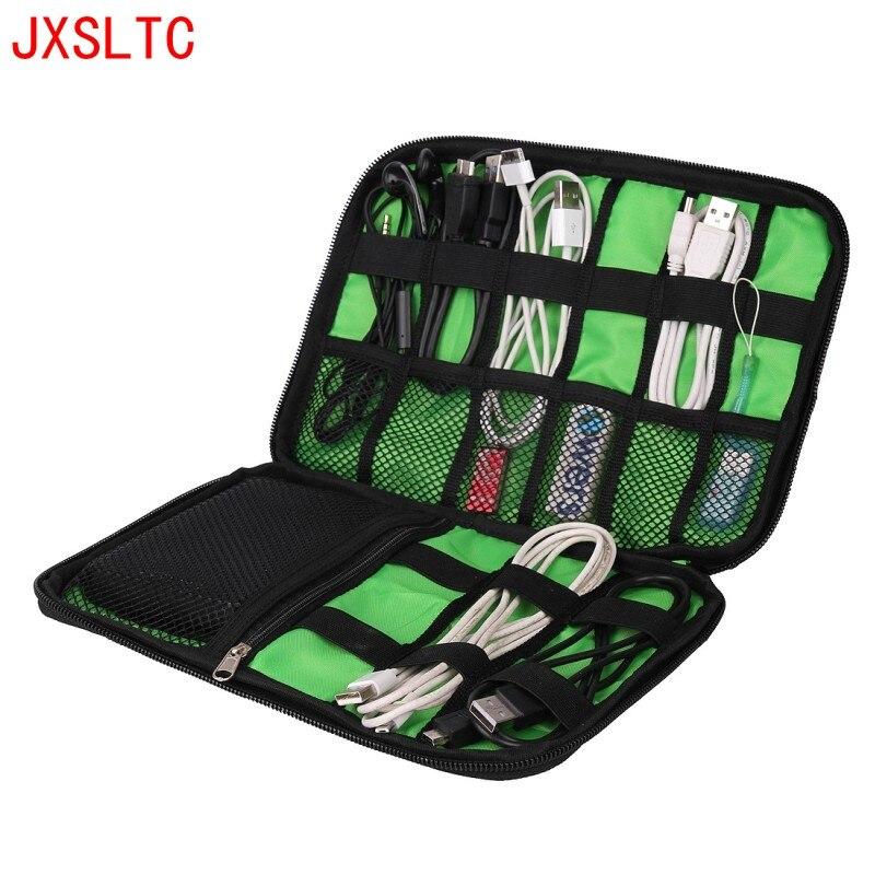 Liels triecienizturīgs USB kabelis Austiņu glabāšanas soma Flash - Mājas uzglabāšana un organizēšana