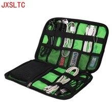 Large Shockproof USB Cable Earphone Storage Bag Flash Drive Organizer Digital Gadget Holder Travel Cellphone Mobile