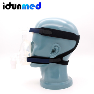 Image 4 - idunmed CPAP Full Face Mask With Forehead Adjustable Strap Clips For Mouth Nose Sleep Apnea Anti Snoring Treatment Solution