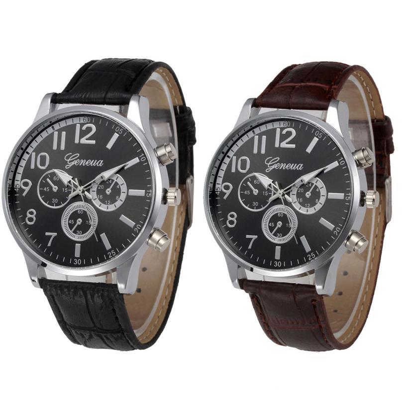 latest mens watches promotion shop for promotional latest mens 2017 latest men s watches retro design leather band men fashion sports quartz watch leather dial date clock montre homme