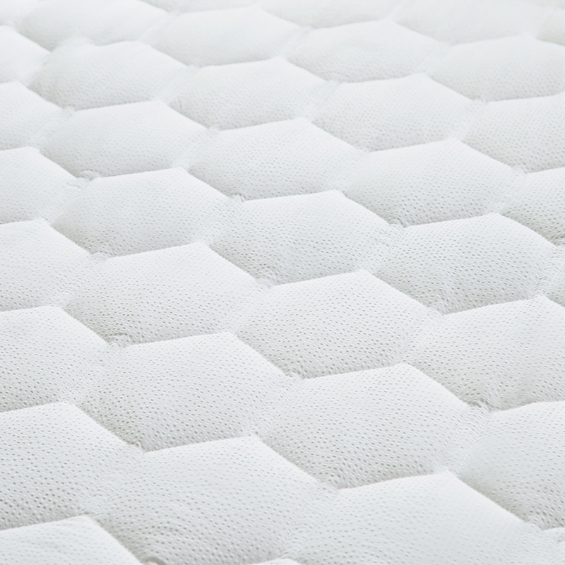 White Bed Protection Pad, Quilted Mattress Protector, Polyester Woven, Twin, Full, Queen, King 17