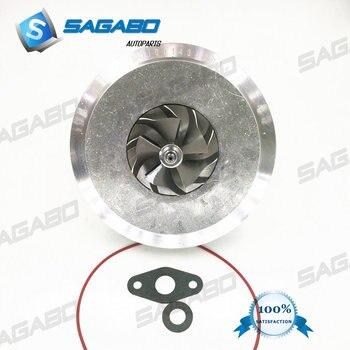Turbocompresor GT2260V CHRA 753392 742417 cartucho Turbo para BMW X5 3.0D E53 218 HP del motor: m57N 2003-07, 11657791046, 11657791044