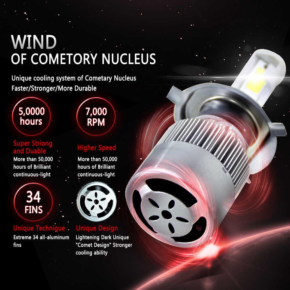 H4 LED H1 H3 H11 880 9005 HB3 9006 HB4 H13 9004 9007 H7 LED 9003 HB2 Super Bright Headlights bulb 36W 6000K Auto Lamp Styling