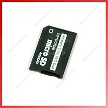 Memory Cards Accessories SDHC TF to Memory Stick MS Pro Duo PSP Adapter Converter Card New