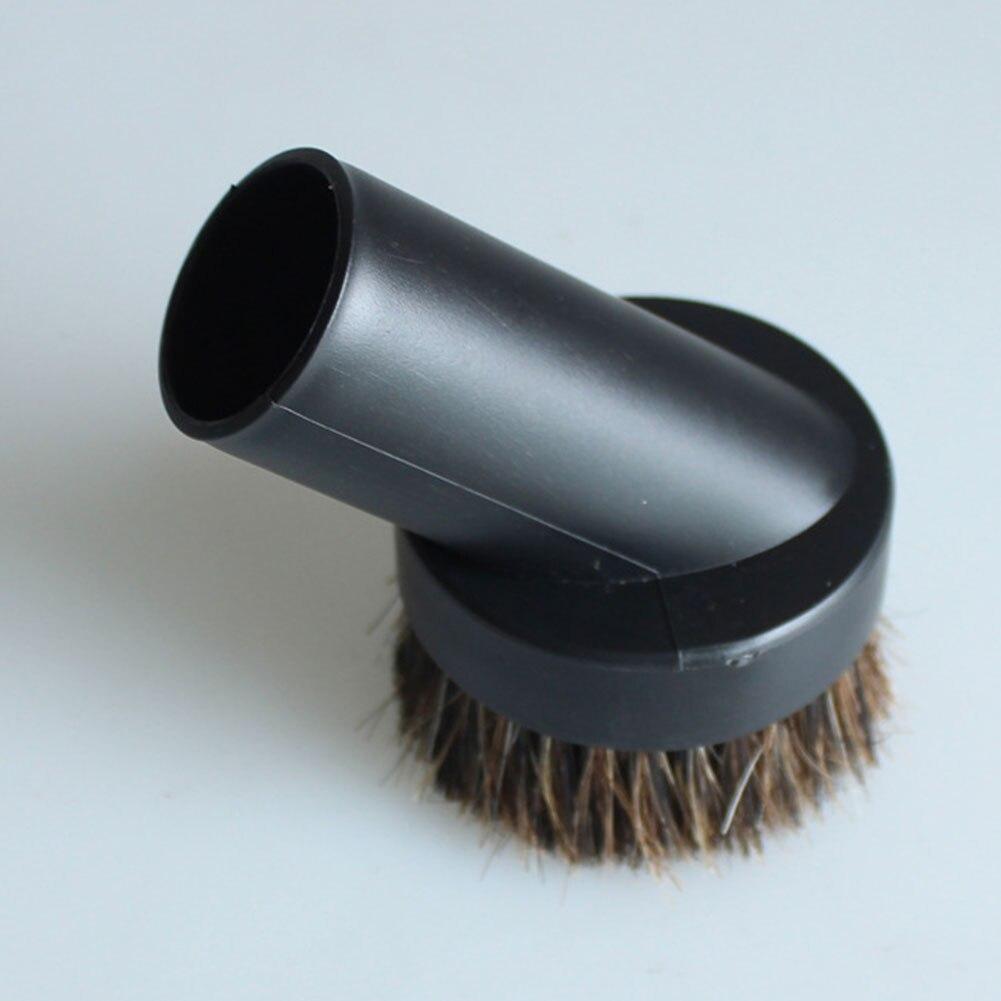 Nueva 32mm de diámetro interior vacío cepillo limpiador polvo suave parte de cepillo para teclado estante de libro aire acondicionado escritorio sofá