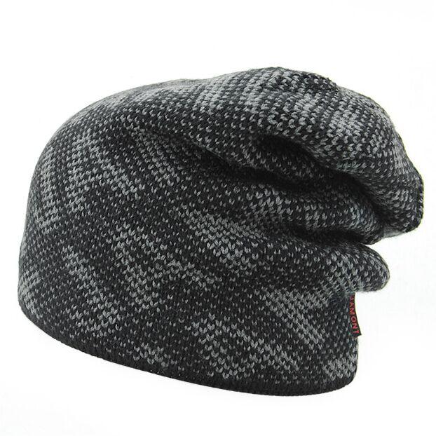 Tapas de los hombres Gorros de Punto para hombres Sombrero Del Invierno  Gorras Skullies Invierno Del Capo sombreros Para Hombres Mujeres Lana de  Piel ... 9232f904944