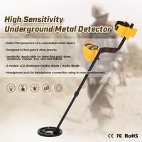 Professional Metal Detector High Sensitivity Underground Metal Detector Gold Digger Treasure Hunter Metal Finder Seeking Tool
