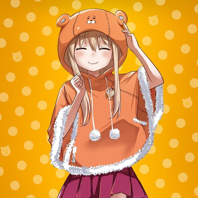 Anime Himouto! Umaru-chan Hoodie Umaru Trajes Cosplay Costume Cute Kawaii Creative Clothing Cloak Sweatshirt For Christmas Gift