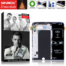 Sinbeda AAAA Quality For LG G5 LCD Screen Display With Touch Digitizer Glass Panel +Frame Assembly For H850 H840 H860 H830 VS987