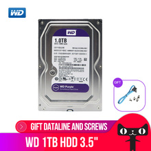 WD Purple 1TB Hard Drive Disk For Security System WD10EJRX HDD 3.5″ SATA DVR CCTV PC HDD Surveillance Hard Drives