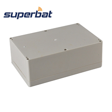 Superbat Big Waterproof Plastic 9.06″*5.91″*3.35″ Electronic Project Box Enclosure Case DIY 230*150*85mm with Screws NEW