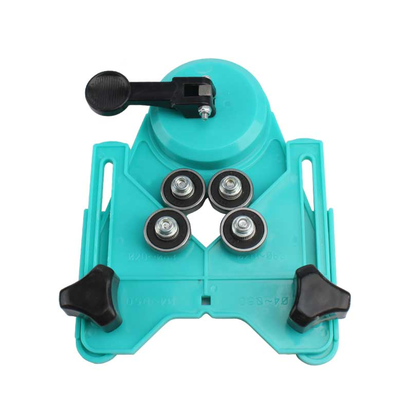 Drill Positioner Clamping Range 4-83mm Tile/Ceramic/Porcelain/Glass/Marble Drill Helper best promotion 10pcs set diamond holesaw 3 50mm drill bit set tile ceramic porcelain marble glass top quality