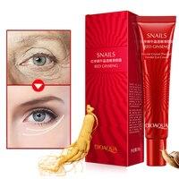 BIOAQUA Miracle Reverse Ageing Eye Cream Anti Wrinkle Anti Aging Eye Cream Remove Dark Circles Puffiness Repair Eye Lifting Skin Care