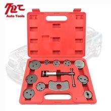 12pcs Universal Car Disc Brake Caliper Wind Back Brake Piston Compressor Tool Kit For Most Automobiles Garage Repair Tools