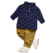 Toddler Boys Clothing Sets 2020 Spring Boys Clothes 2pcs Outfit Kids Clothes Sport Suit For Boy Children Clothing 1 2 3 4 5 Year cheap KEAIYOUHUO Casual O-Neck Pullover Polyester Cotton Full Cartoon Regular Fits true to size take your normal size Coat Picture color