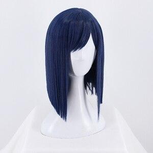 Image 3 - DARLING in the FRANXX Cosplay Wig Zero Two ICHIGO Halloween Costume Blue Synthetic Hair Perucas + Wig Cap