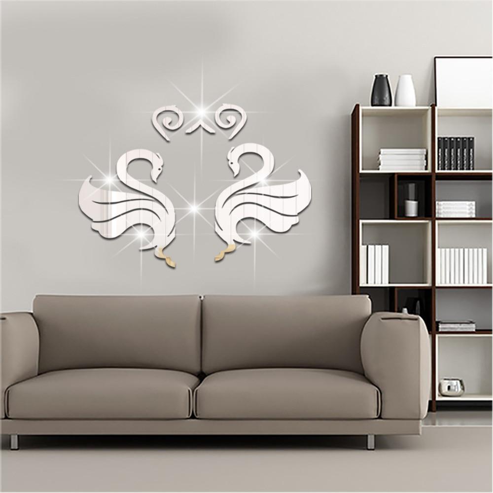 Aliexpress.com : Buy European Swan Decorative Decals ...