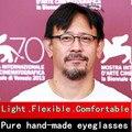 Creative personality spectacle men frame glasses Screwless Ultra-light eyeglasses frames men brand myopia Oliver Peoples