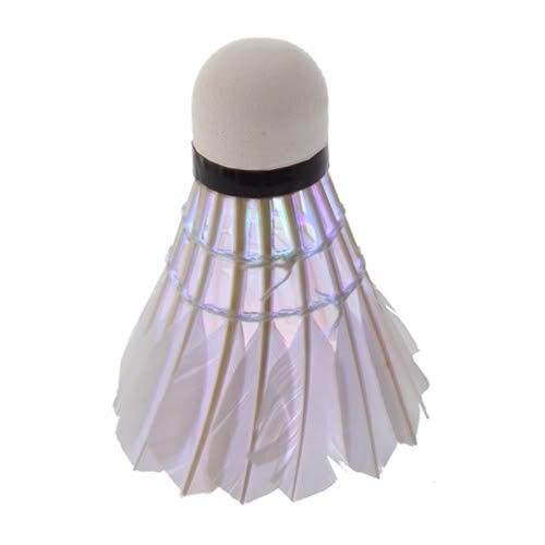 Wholesale 10* New Durable Multicolours Dark Night LED Badminton Shuttlecock Birdies Lighting