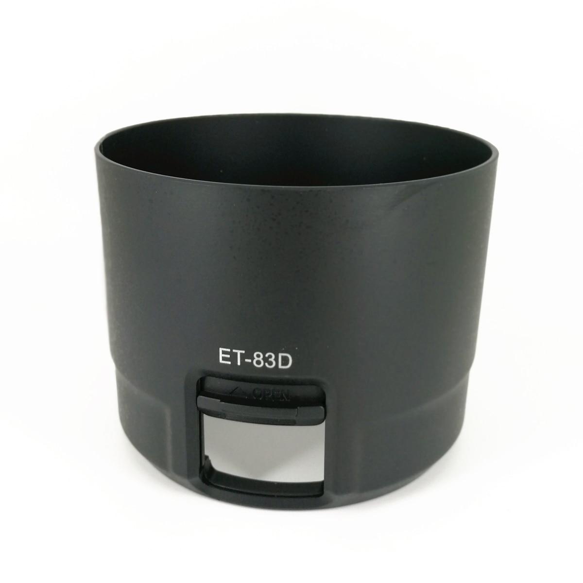 77mm Lens Hood Flower Screw Mount For Canon EF 100-400mm F4.5-5.6L IS II USM