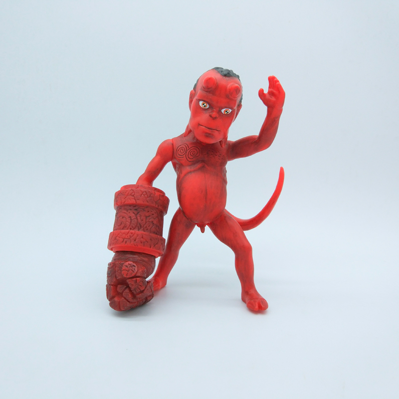 Anime Movie The Golden Army Hellboy 8/20CM PVC Action Figure Figurine Toy Gift Rare HELLBABY ANIMATED Model toy Brinquedos bloodlines the golden lily