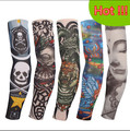 Tattoo sleeves halloween 5pc kit collection long arm  Fake tattoo glove Sunscreen harajuku sleeves