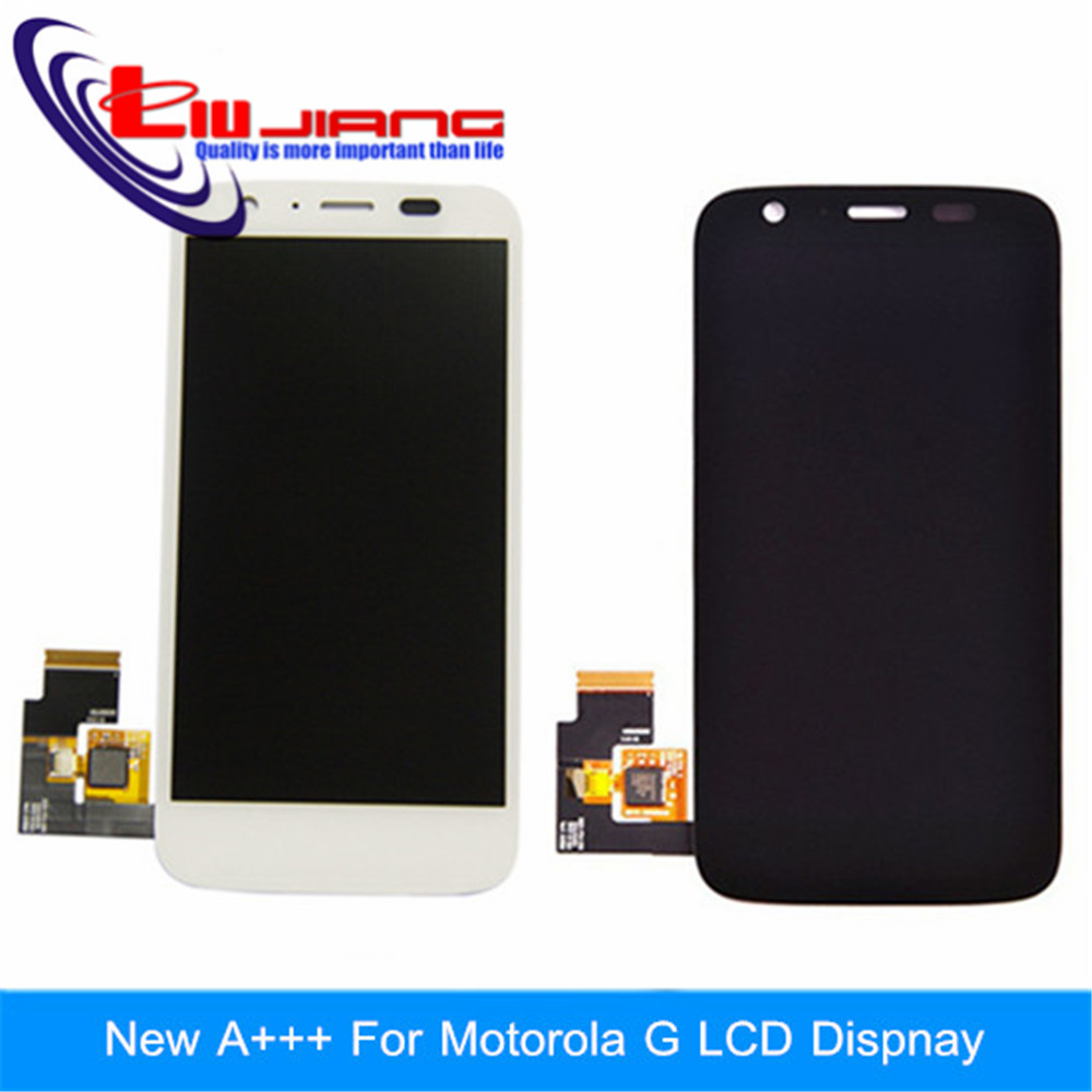100% Original LCD Display Touch Digitizer Screen Assembly For Motorola MOTO G XT1032 XT1033 Free shipping new original lcd replacements for motorola moto g xt1032 xt1033 lcd display touch digitizer screen with frame assembly tools