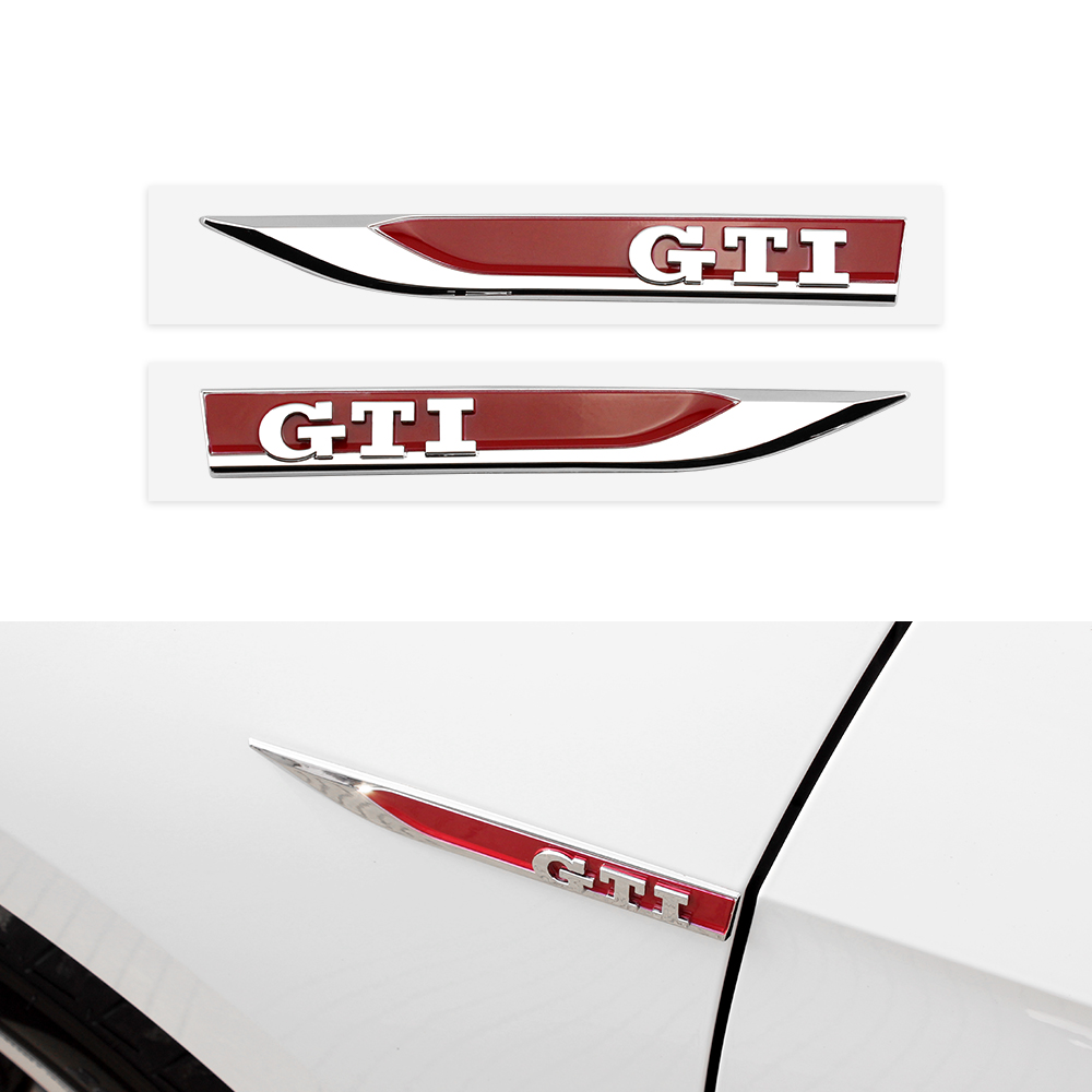 Fender stickers, Tiguan, Passat, polo, car side Jeeta badge for golf ...