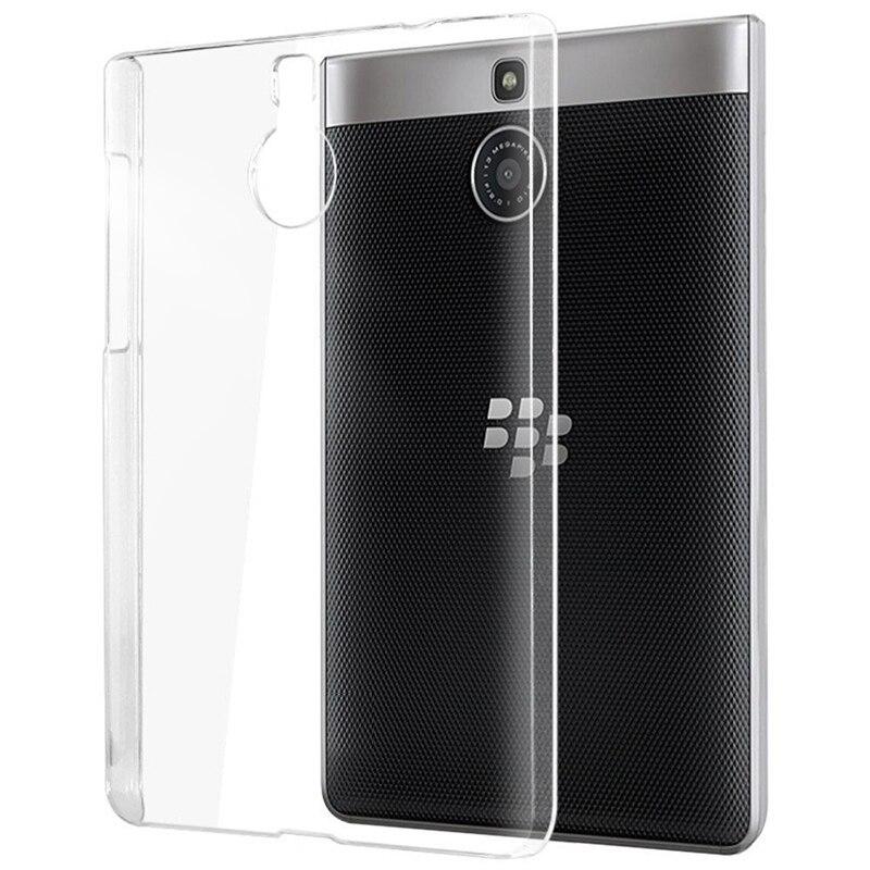 Чехол кожи для Blackberry паспорт серебряные издание мягкий прозрачный ТПУ Ясно Пластик Жесткий Назад ультра тонкий и легкий