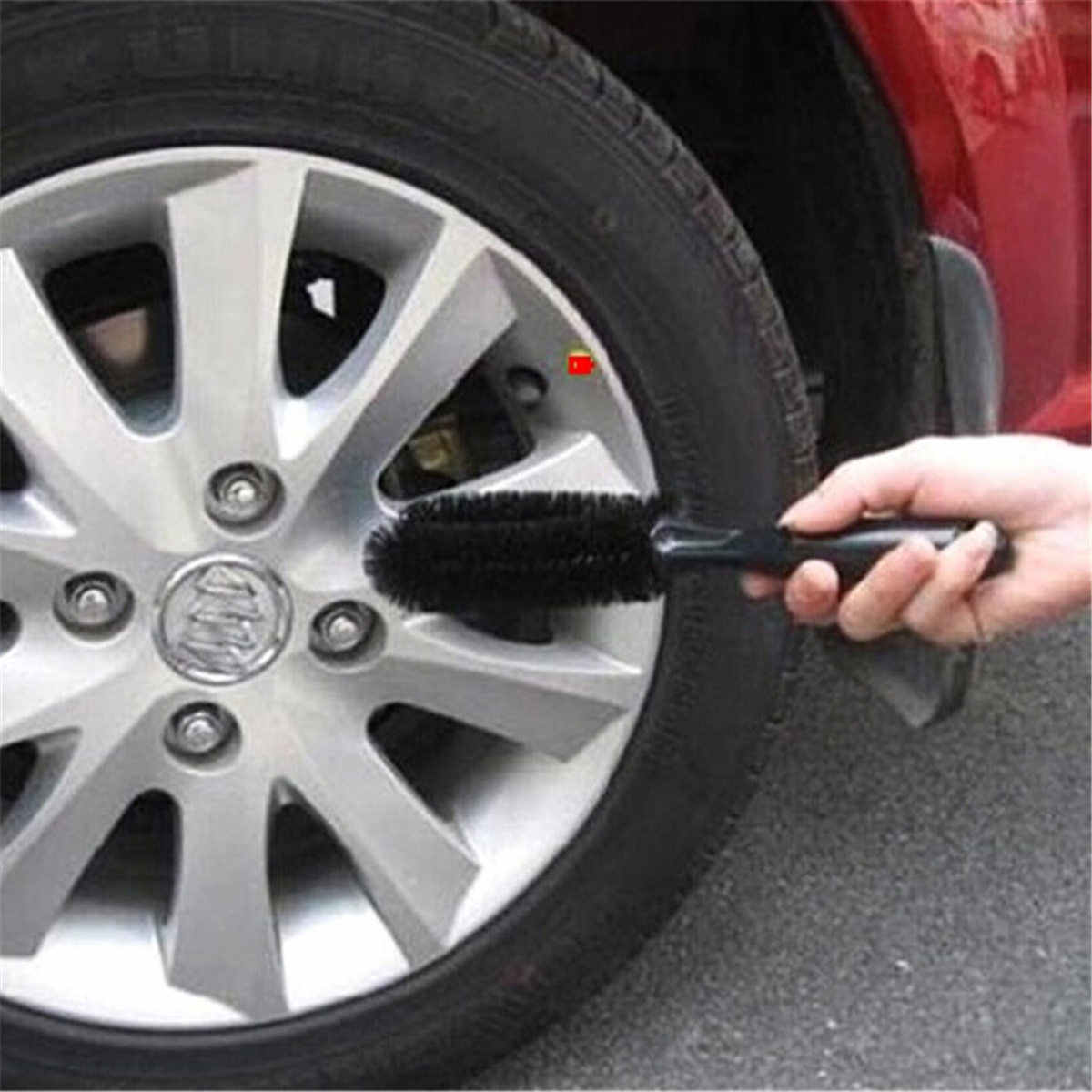 Car Brush Tool for Auto Car Truck Motorcycle Bicycle Washing Cleaning Hang-heldTool Vehicle Wheel Tire Rim Scrub