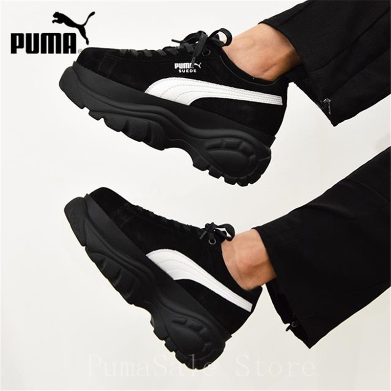 038069cb0876 2019 New Arrival PUMA X BUFFALO LONDON SUEDE Women s Shoes 368499 01 ...