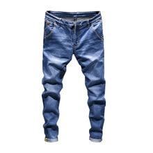 2019 New Casual Mens Jeans / Skinny Men Straight Denim Male Stretch Trouser fashionable Pantsstranger things