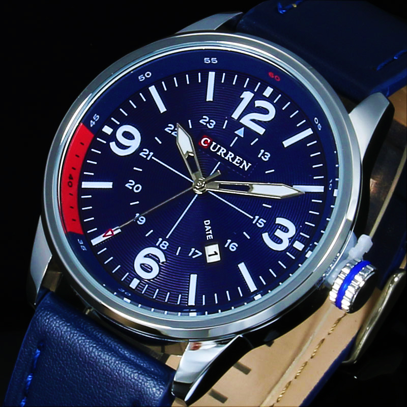 Prix pour CURREN Hommes Montres Top Marque De Luxe Montre-Bracelet Hommes CURREN Quartz Montres Hommes Horloge Relogio Masculino Relojes Hombre 2016