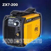 new portable welder IGBT inverter portable welding machine arc welder ZX7 200 with electrode holder and earth clamp