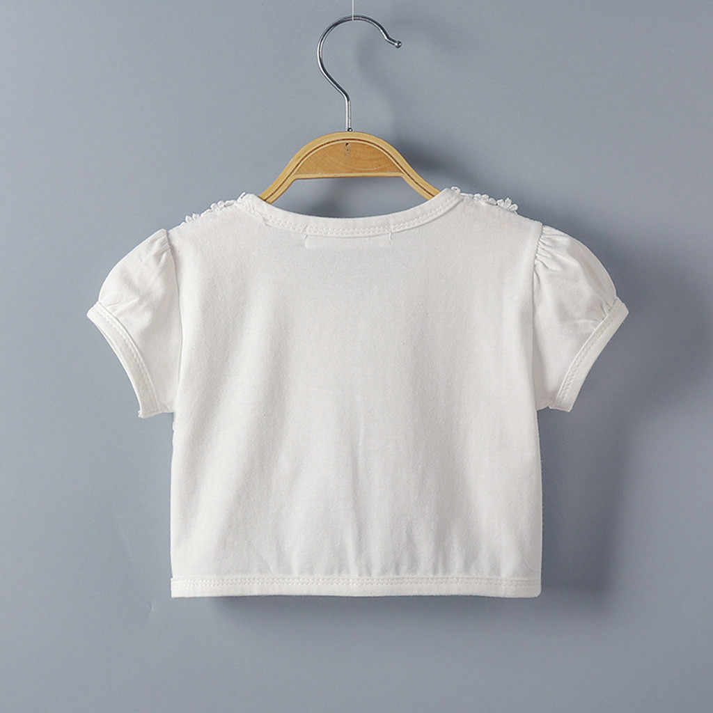 ילדים בנות תחרה קרדיגן תינוק קצר שרוולי מעילי ילדה מסיבת חתונת קייפ מעיל ילדי שמלת חולצות בגדים סרוג