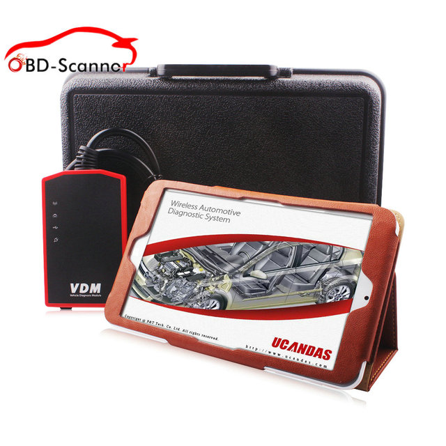 vdm tablet Professional Auto Diagnostic Scanner VDM UCANDAS V3.9 WIFI Automotive Diagnostic tool scanner automotivo