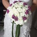 2016 Романтические Свадебные Цветы Свадебные Букеты Лента Искусственный Свадебный Букет Кристалл Искра 2015 Новый buque де noiva