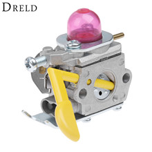 цена на DRELD Chainsaws Carburetor Carb for ZAMA C1U-W18 Craftsman Poulan Weedeater 530071752 530071822 SST25 String Trimmer Carburetor