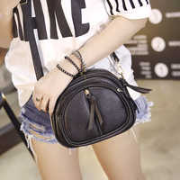 Yuhua, 2020 new women handbags, mini fashion flap, trend Korean version shoulder bag, circular woman messenger bag.
