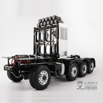 1/14 truck ScaniaR620 R470 full drive 8X8 heavy duty tractor chassis electric model LS-20130010 RCLESU Tamiya tractor