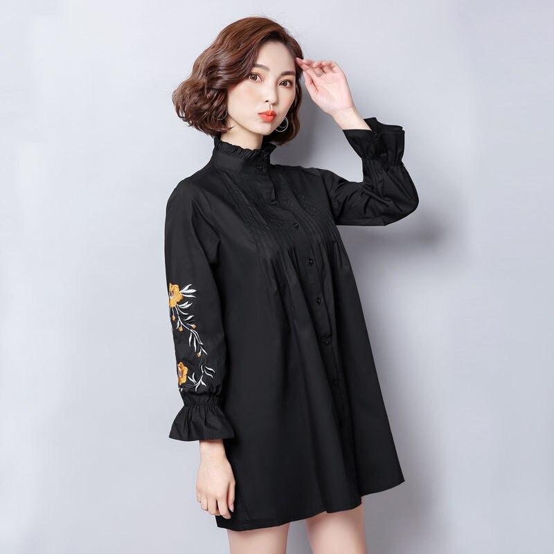 Feminina Size Blusas Tops 8