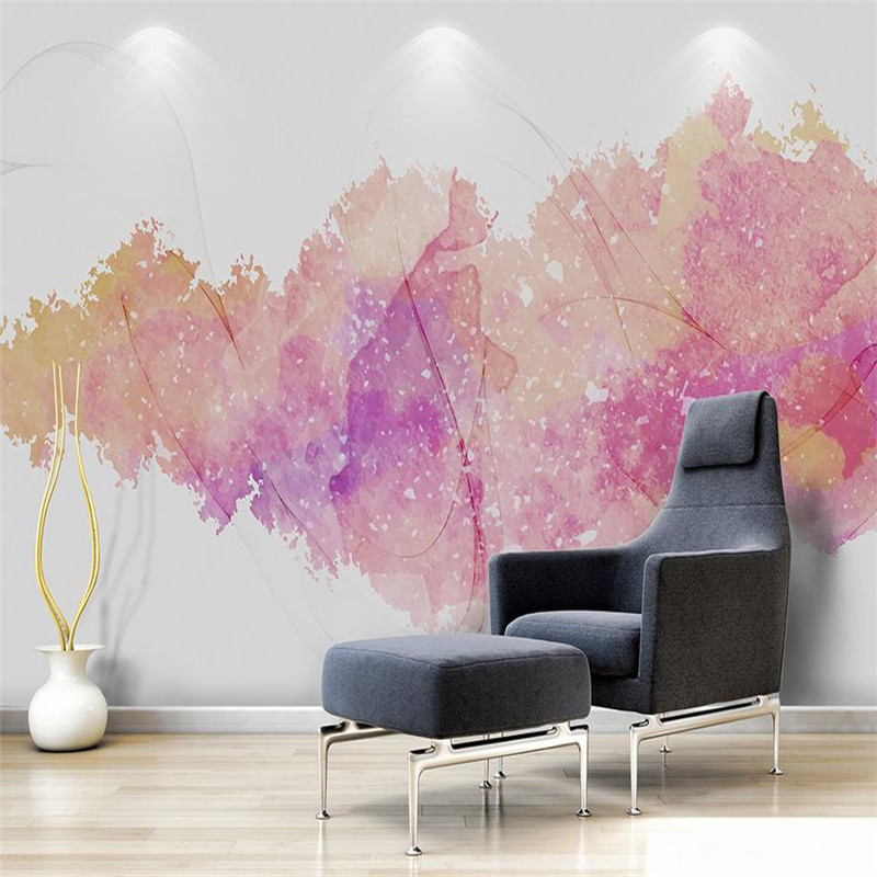 custom 3d stereoscopic minimalist modern wallpaper nordic simple abstract watercolor ink smoke background decoration wallpaper бутылка 0 48 л asobu the modern press серая fp3 smoke